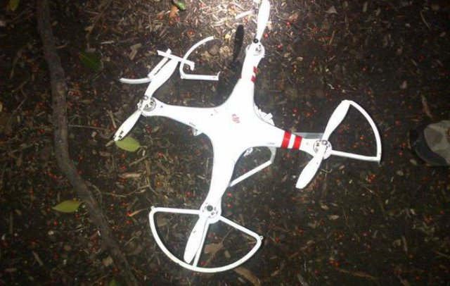 The DJI Phantom drone that crashed at the White House in January. Credit: U.S. Secret Service