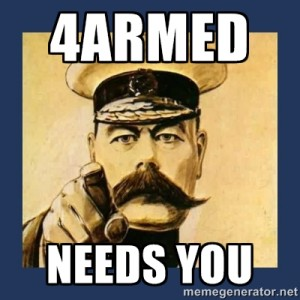 4ARMED Needs You